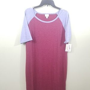 LuLaRoe Julia dress size 3XL